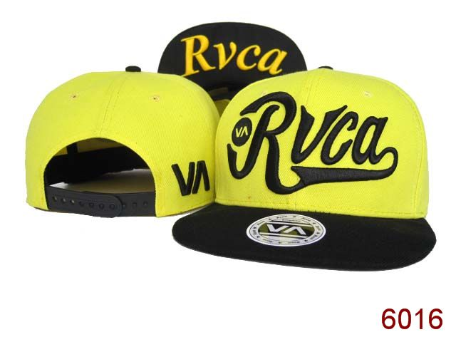 Rvca Yellow Snapback Hat SG