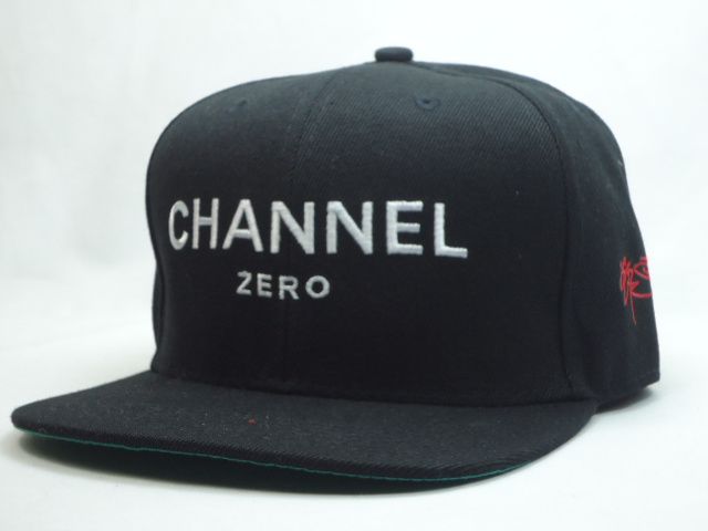 SSUR Black Snapbacks Hat SF 1