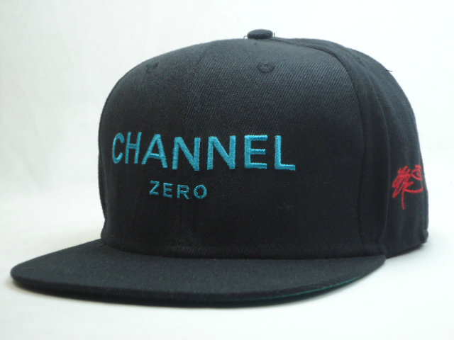 SSUR Black Snapbacks Hat SF