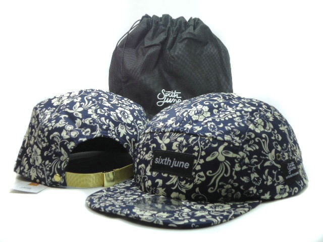Sixth june Flower Snapbacks Hat SF 1
