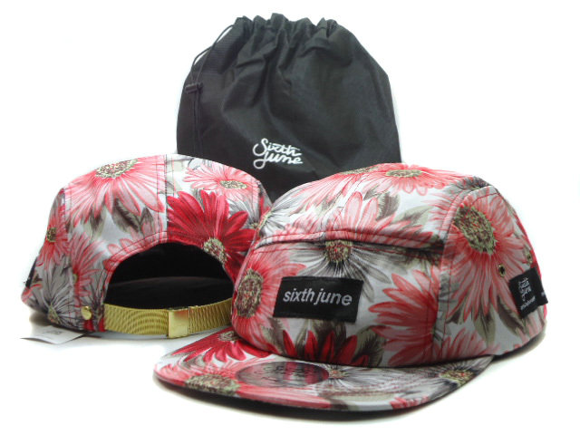 Sixth june Flower Snapbacks Hat SF 2