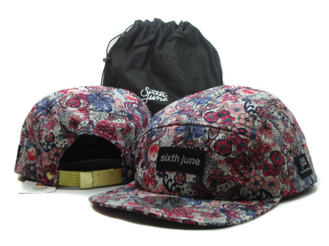 Sixth june Flower Snapbacks Hat SF 3