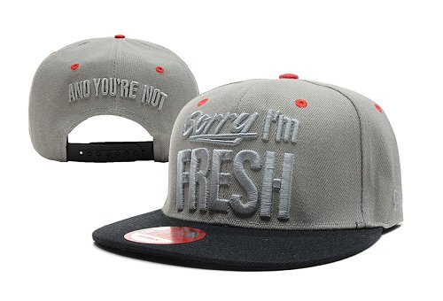 Sorry I am Fresh Snapback Hat LX 6