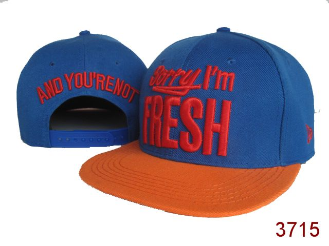 Sorry I am Fresh Snapbacks Hat SG