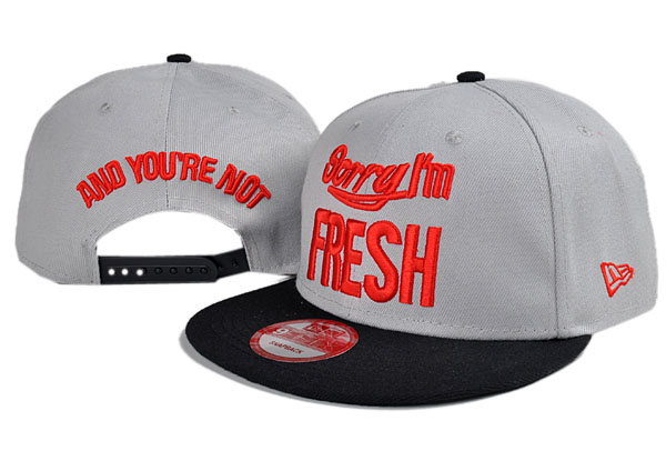 Sorry I am Fresh Snapbacks Hat TY1