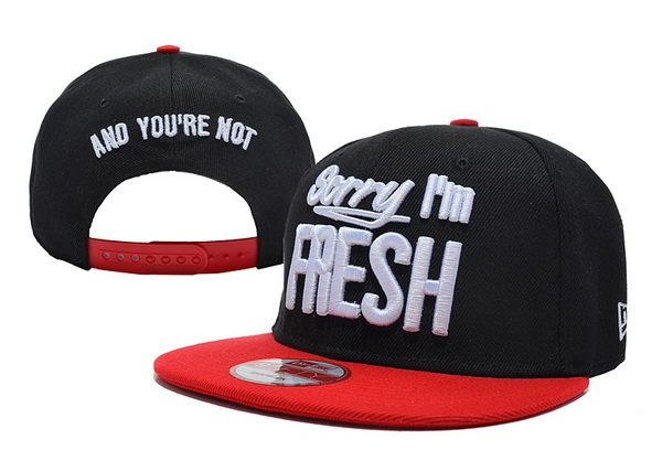 Sorry I am Fresh Snapbacks Hat XDF 2