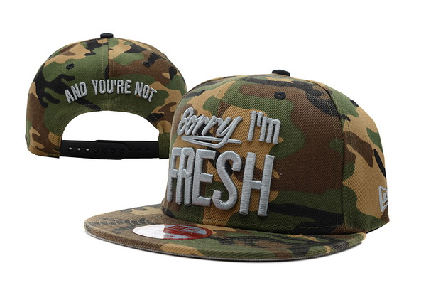 Sorry I am Fresh Snapbacks Hat XDF 3