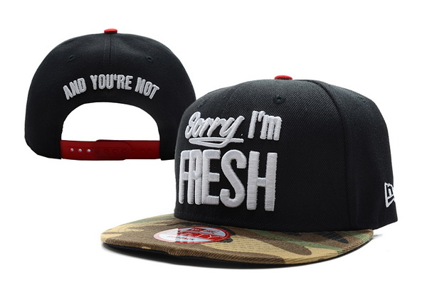 Sorry I am Fresh Snapbacks Hat XDF 5