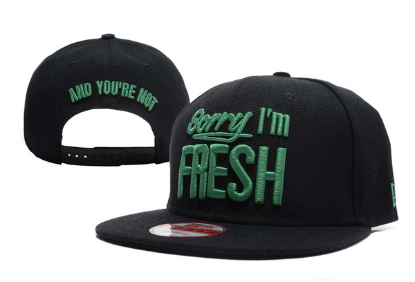 Sorry I am Fresh Snapbacks Hat XDF 6