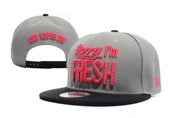 Sorry I am Fresh Snapbacks Hat XDF 7