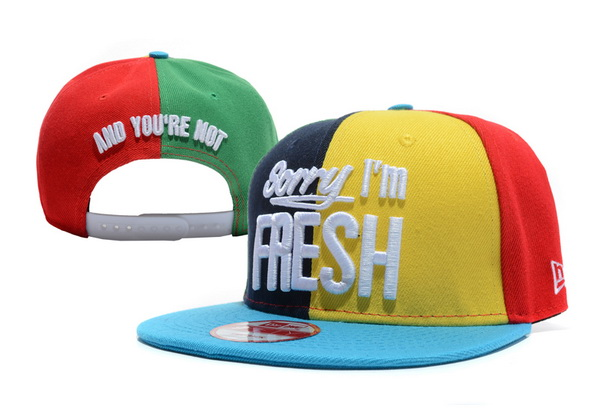 Sorry I am Fresh Snapbacks Hat XDF 8