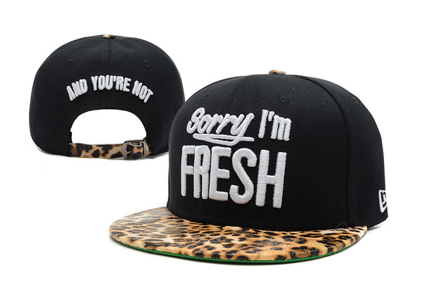 Sorry I am Fresh Snapbacks Hat XDF 9