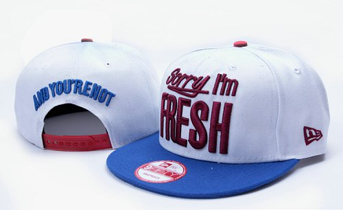Sorry I am Fresh Snapbacks Hat YS1
