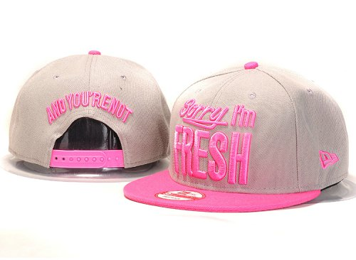 Sorry I am Fresh Snapbacks Hat YS2