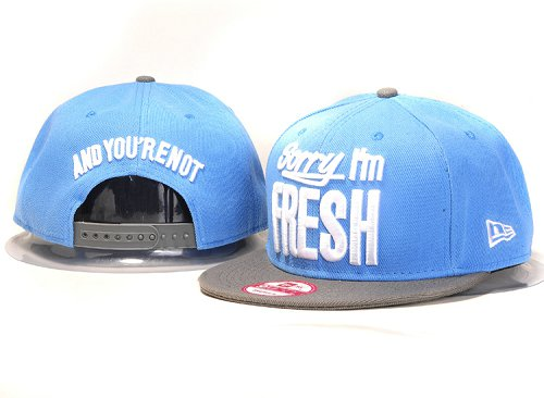 Sorry I am Fresh Snapbacks Hat YS3