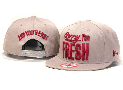Sorry I am Fresh Snapbacks Hat YS4