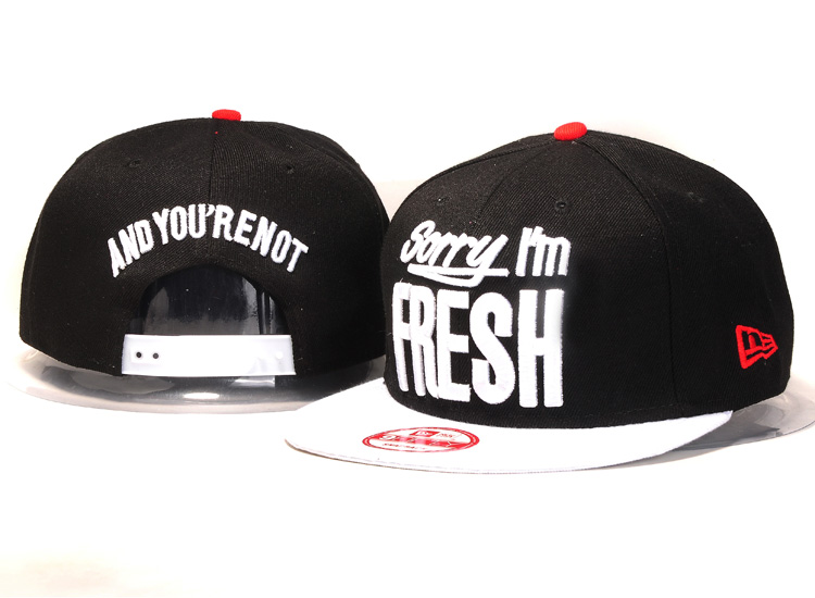 Sorry I am Fresh Snapbacks Hat YS5