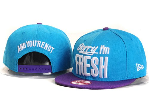 Sorry I am Fresh Snapbacks Hat YS6