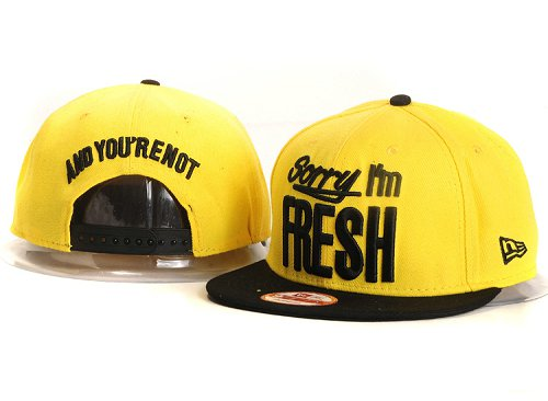 Sorry I am Fresh Snapbacks Hat YS7