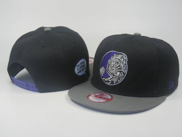 Star Wars Black Snapback Hat LS 2 0613