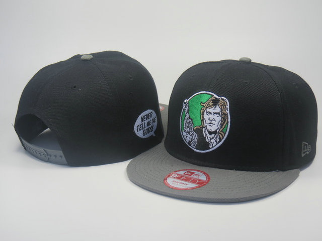 Star Wars Black Snapback Hat LS 3 0613