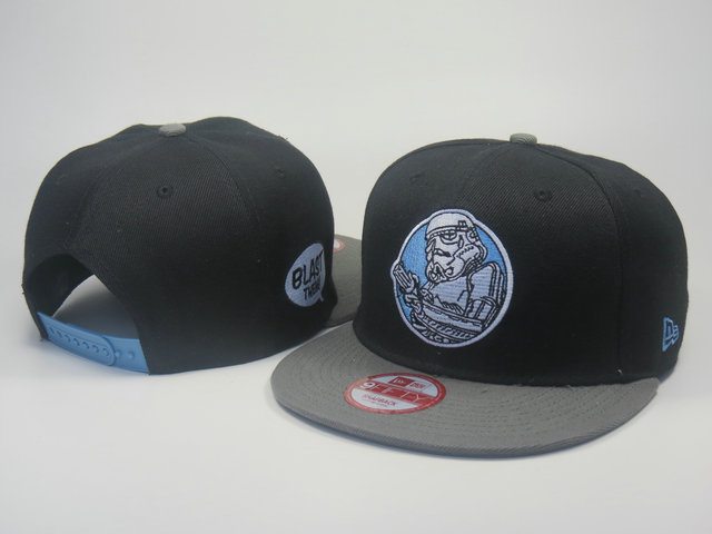 Star Wars Black Snapback Hat LS 5 0613
