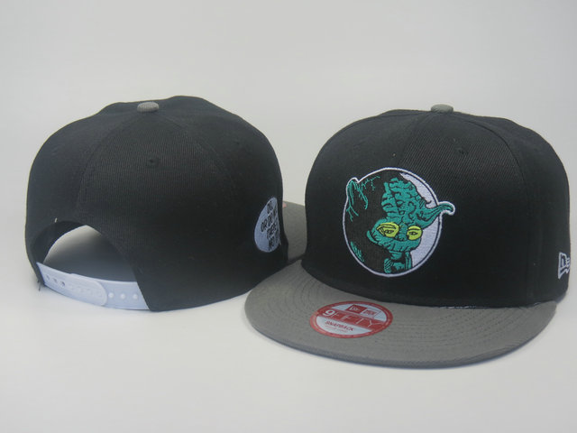 Star Wars Black Snapback Hat LS 6 0613