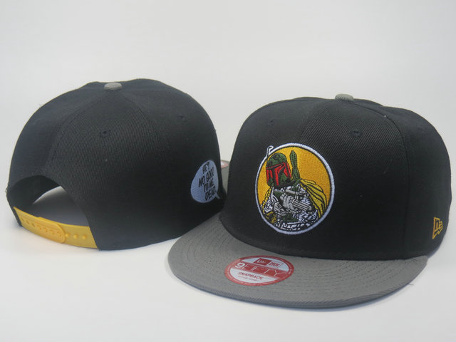 Star Wars Black Snapback Hat LS 0613