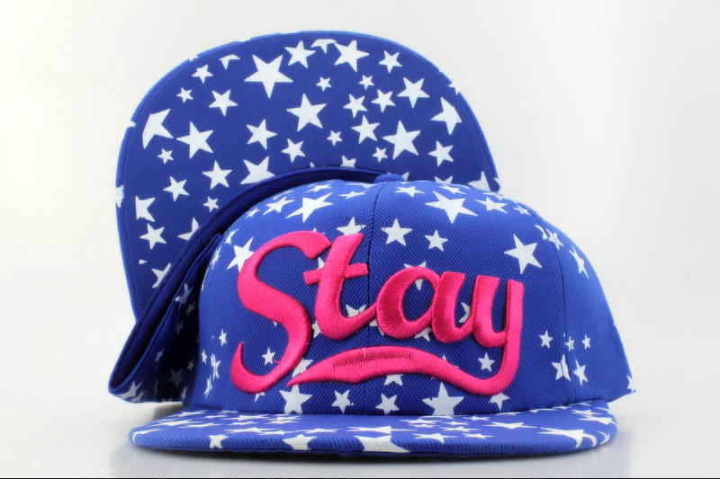 Stay Blue Snapback Hat QH 0701