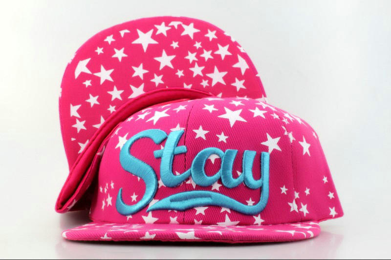Stay Pink Snapback Hat QH 0701
