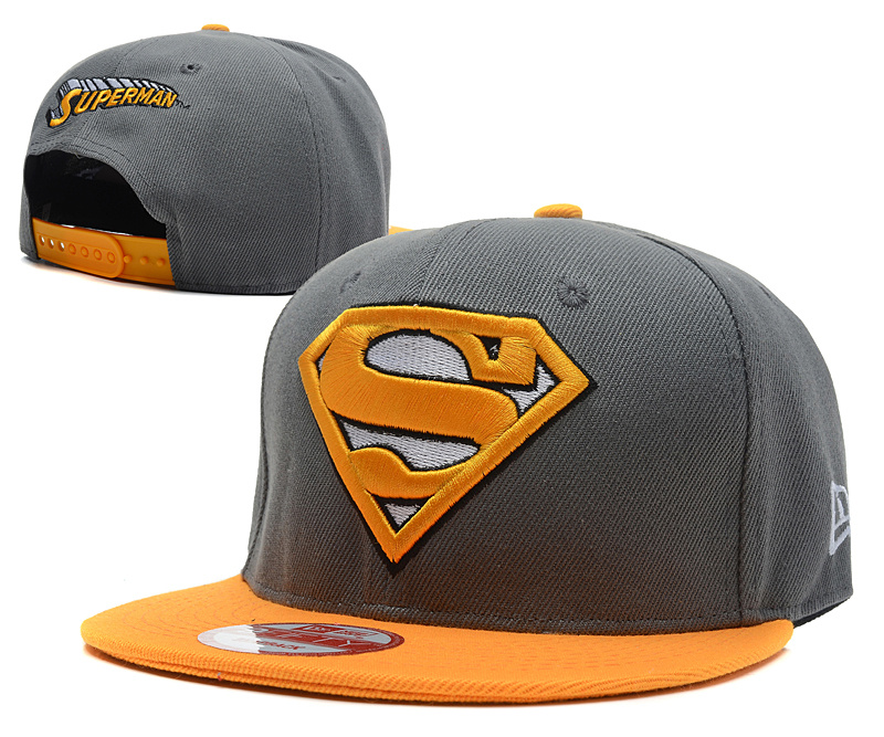 Super Man Snapback Hat 37