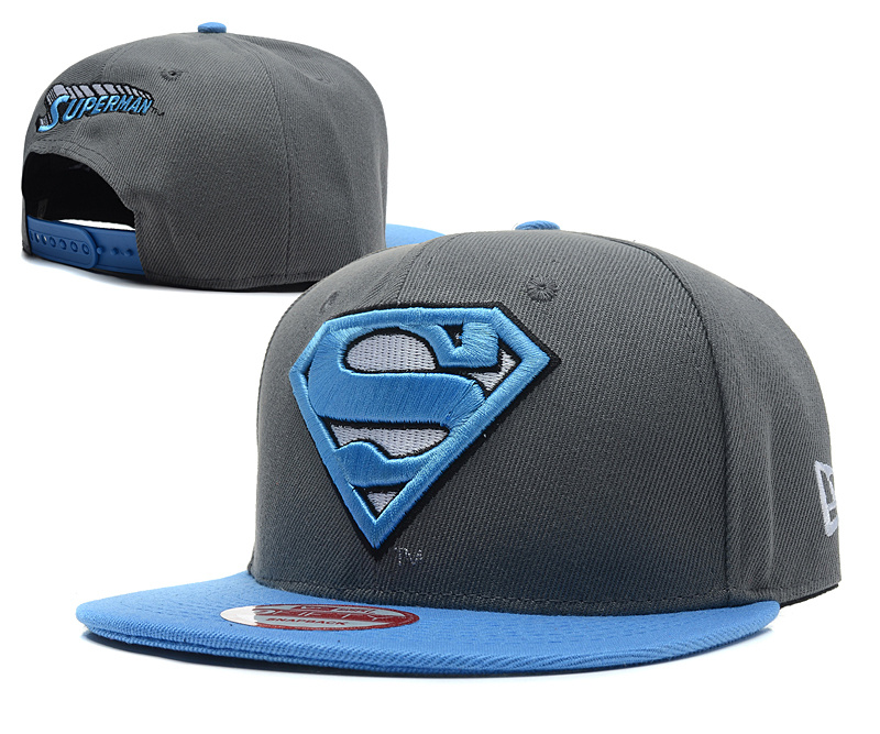 Super Man Snapback Hat 38