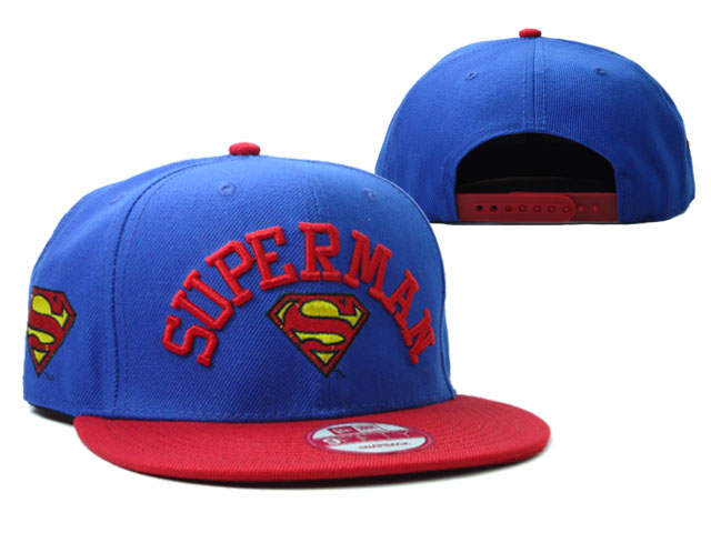 Super Man Snapback Hat 01