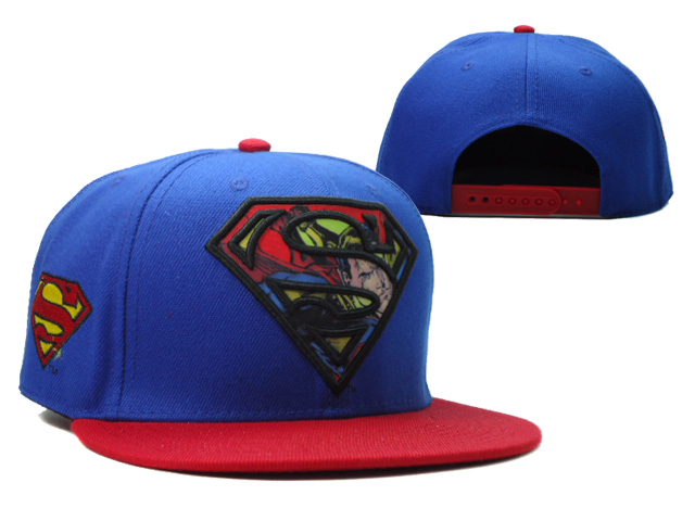 Super Man Snapback Hat 03