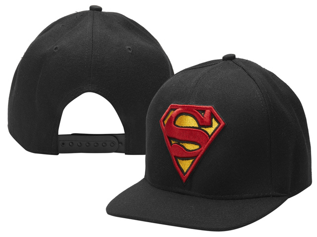 Super Man Snapback Hat 04