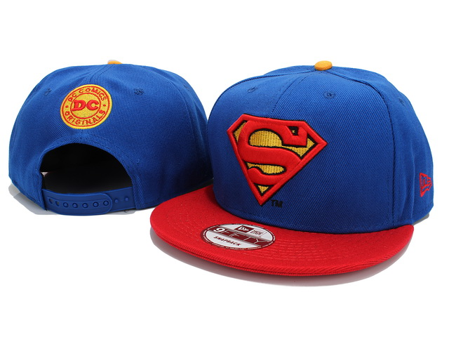 Super Man Snapback Hat 07