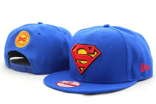 Super Man Snapback Hat 09
