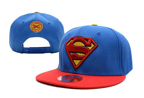 Super Man Snapback Hat 17