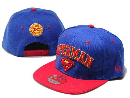Super Man Snapback Hat 18
