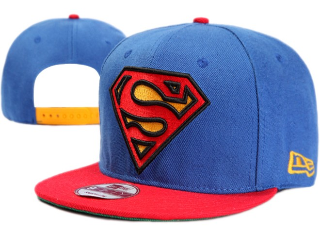 Super Man Snapback Hat 19