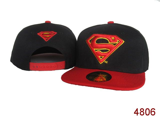 Super Man Snapback Hat 26