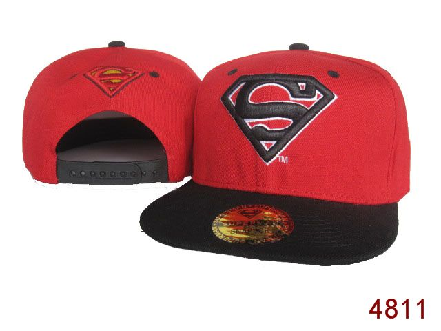 Super Man Snapback Hat 30