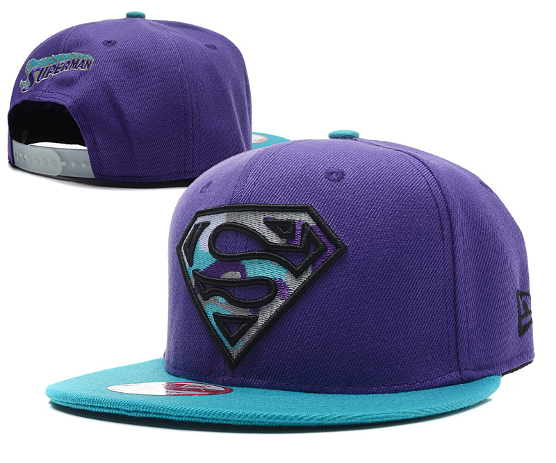 Super Man Snapback Hat 34