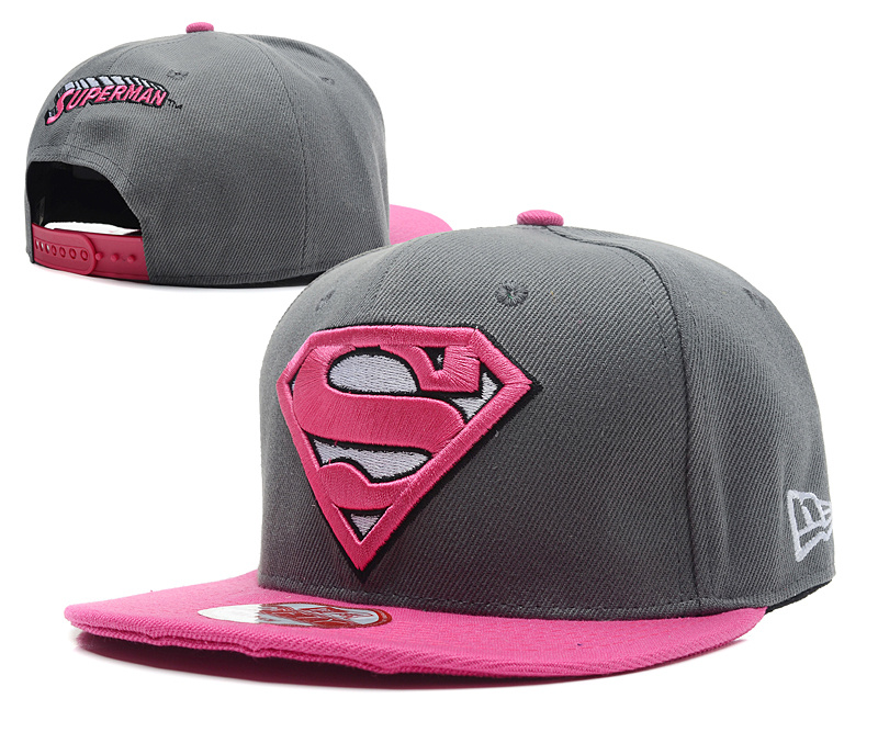Super Man Snapback Hat 35