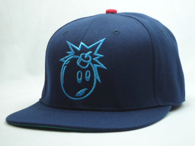 THE HUNDREDS Blue Snapback Hat SF