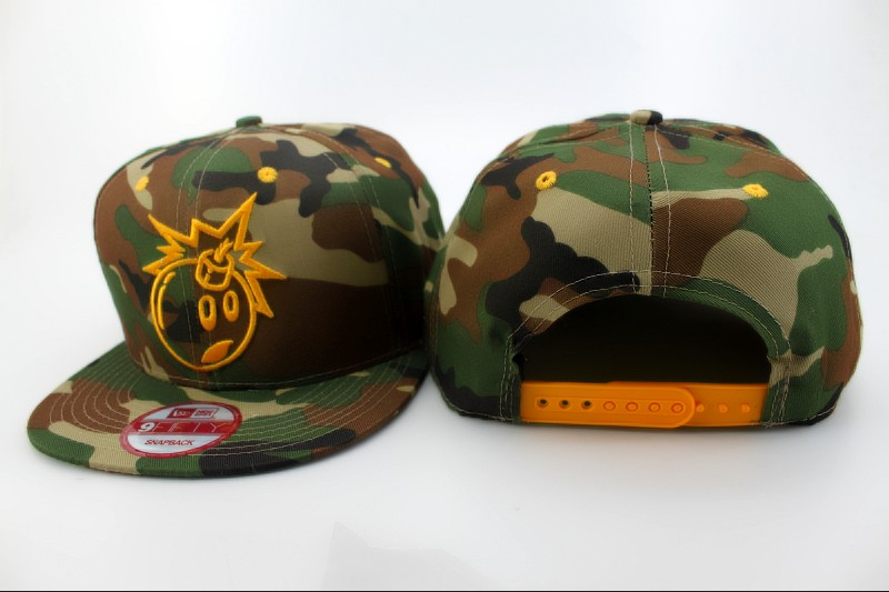 THE HUNDREDS Camo Hat QH 2