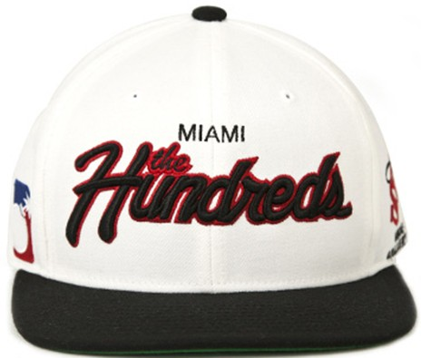 THE HUNDREDS SNAPBACK Hat06