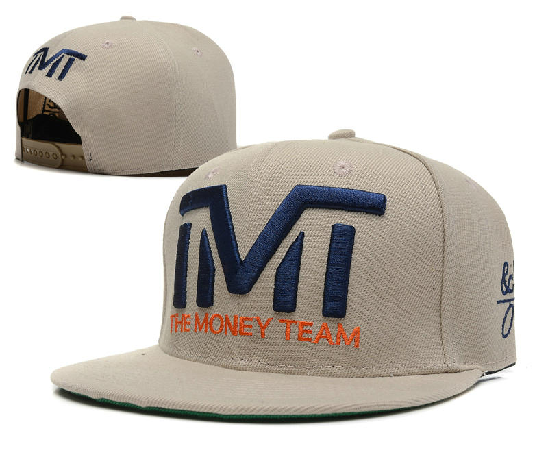 TMT Grey Snapback Hat SD