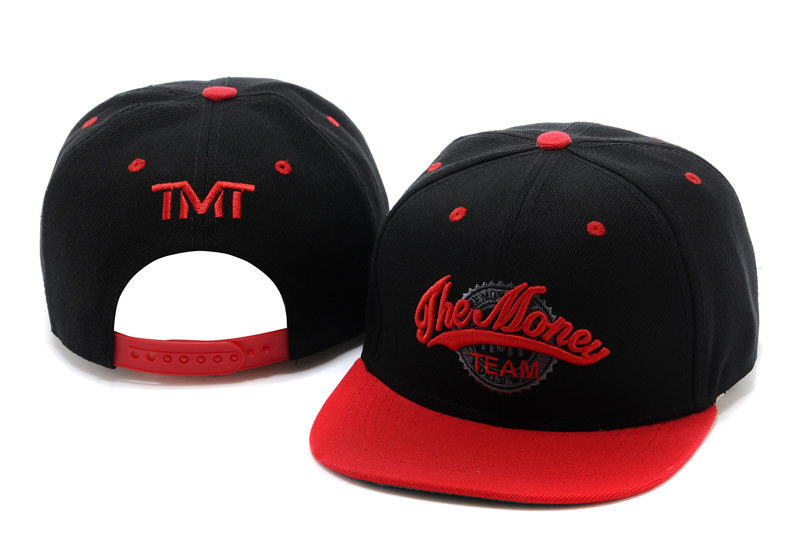 TMT Courtside Black Snapback Hat TY 1 0701