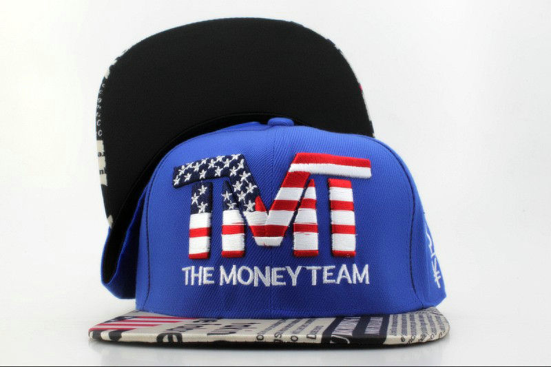TMTThe Money Team Blue Snapback Hat QH 1 0701
